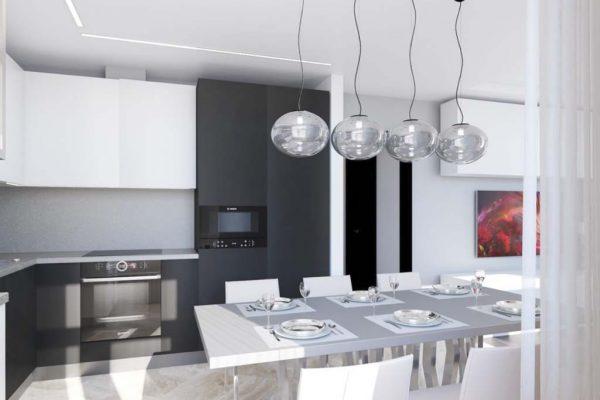 Дизайн проект квартиры 67м2