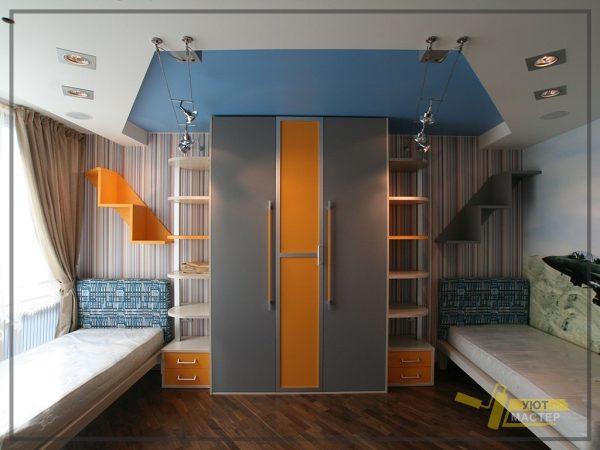 Дизайн детской комнаты 24 м2