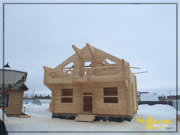 Дом из бруса 102 м2