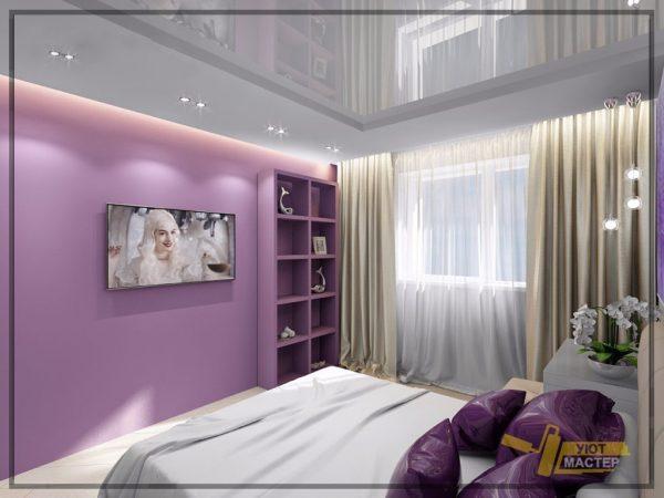 Дизайн спальни 10 м2