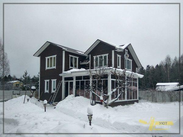 Строительство дома 210 м2