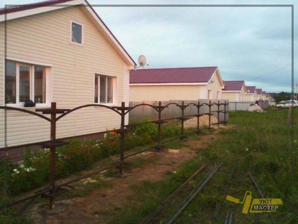 Забор из профнастила 80 мп